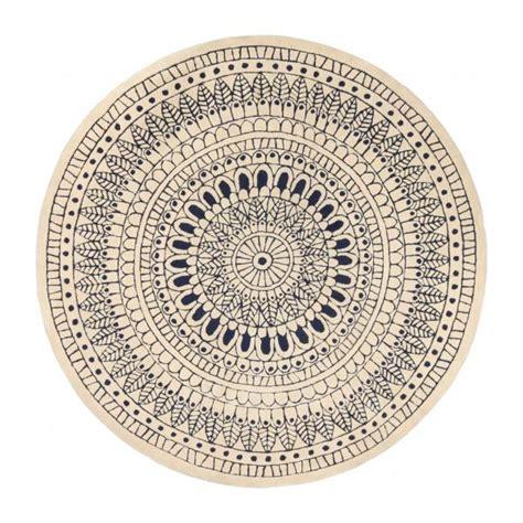 jobi alfombra redonda de pelo corto  cm habitat