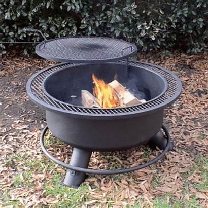 Fire Pit Grill Swivel Titan Pits Backyard