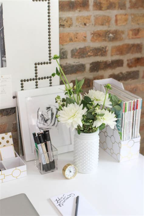Desk Decoration by How To Style A Desk 3 Ways For The 18 Year Student