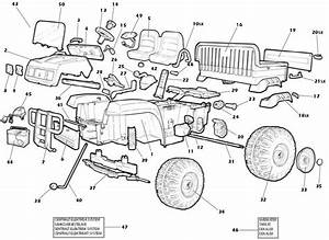 John Deere Gator  Old Style  Parts Diagram