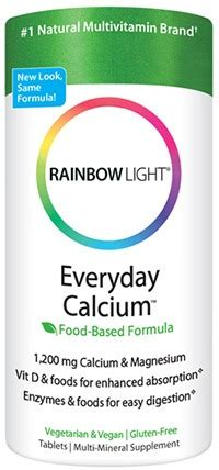 rainbow light everyday calcium reviews vitaminlife com everyday calcium with enzymes