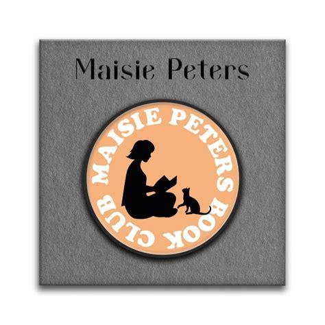 Maisie Peters book club logo enamel pin badge