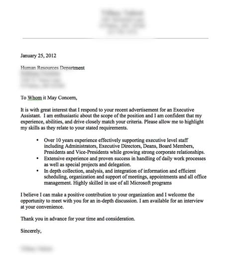 good cover letter template a very good cover letter example resume tips pinterest