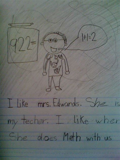 22 Children?s Hilariously Inappropriate Spelling Mistakes   Bored Panda