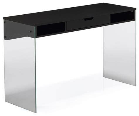 bureau en verre trempé noir bureau verre trempe noir 28 images bureau d angle