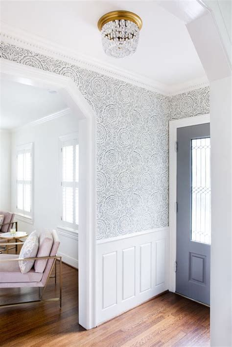 Make Home Bloom Floral Wallpaper Ideas by 10 Wallpaper Ideas To Transform Your Entryway