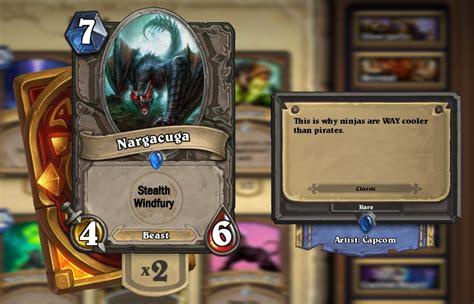 monster hunter cards fan creations hearthstone general