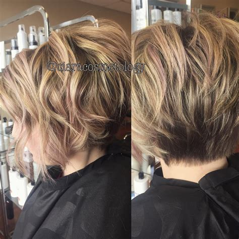 short layered bob hairstyles haircuts