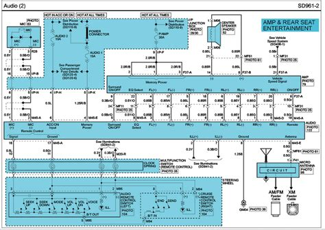 2011 Hyundai Santum Fe Trailer Wiring Diagram by I Need The Wiring Diagram For The Radio In My 2010