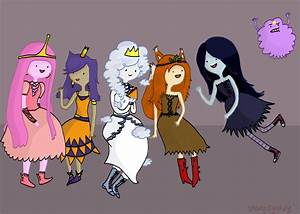 Adventure Time Princess doodle by shang-dynasty on DeviantArt