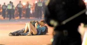 Vancouver Riots 2011  Kissing Couple Identified
