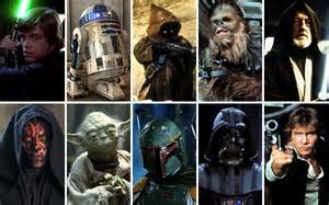 Popular Star Wars Characters