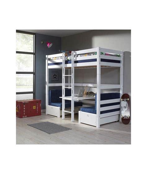 lit superposé avec lits superposes enfants avec bureau