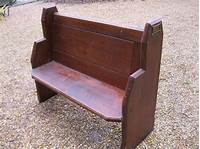 pews for sale SMALL OLD PINE CHURCH PEW. Deliverey possible. ALSO CHAPEL ...