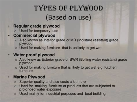 types  commercial timber
