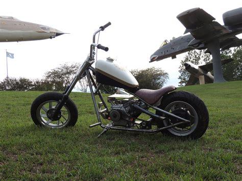 My Mini Chopper Mini Bike Bobber Tank Honda Predator 212cc