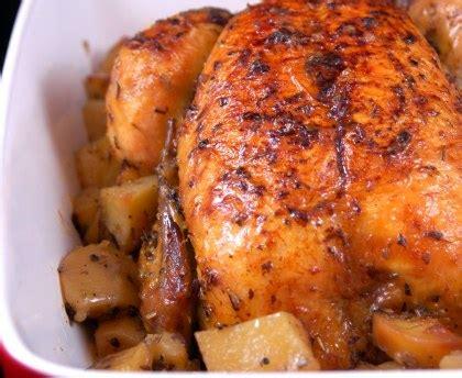 le marmiton recette cuisine poulet rôti et ses pommes de terre recette de poulet
