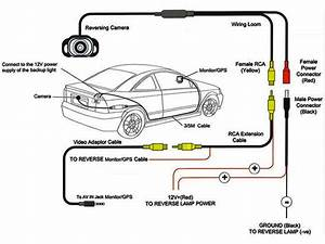 2018 Backup    Rear View Camera Wiring  U0026 Installation Guide