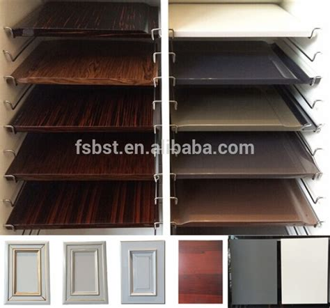 High Gloss Lacquer Finish Kitchen Cabinets by Germany Pvc Coated Indian Kitchen Cabinet Design Wood