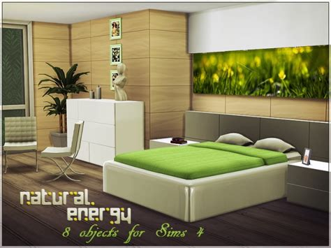 The sims 4 is still going strong years after release. Natural Energy bedroom by Yulia Ko at Sims Studio » Sims 4 ...