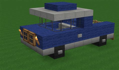 minecraft pickup truck breakc0re 39 s transportation pack schematics included