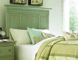 Modern, Green, Accented, White, Bedroom, Decorating, Ideas