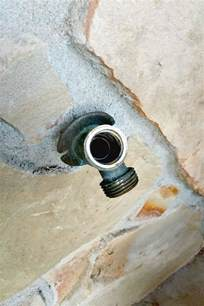 how to fix a leaking outdoor faucet the duckling house