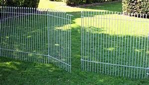 Cloture Chien Jardin : grille de jardin cloture rigide noir chromeleon ~ Melissatoandfro.com Idées de Décoration