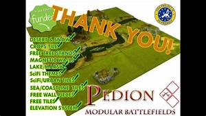 Pedion Modular Prepainted Terrain System For Rpgs
