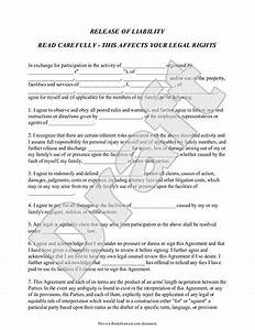 release of liability form waiver of liability template With property disclaimer template
