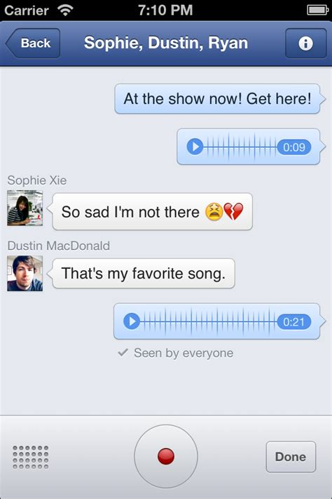 Facebook Messenger App is Updated With Improvements to ...