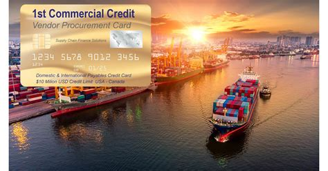 Maybe you would like to learn more about one of these? 1st Commercial Credit introduces Vendor Procurement Card - $10 Million Credit Limit
