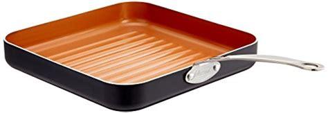 gotham steel  piece    kitchen cookware bakeware set   stick ti cerama copper