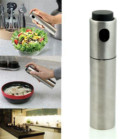 Stainless Steel Oil Sprayer Kitchen Accessories Olive Pump