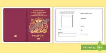 Log Sheet Template Word Passport Template Passport Design Holidays