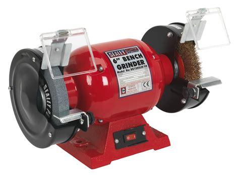 bench grinder wheels bg150xlw 98 sealey bench grinder 150mm with wire wheel