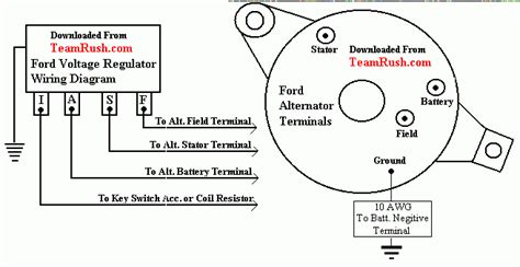 voltage regulator alternator wiring diesel thedieselstop com