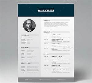 16 great resume indesign templates desiznworld With indesign resume