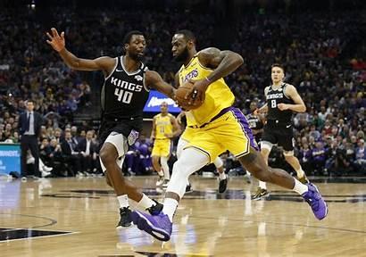 Lakers Lebron James Basketball Kings Angeles Bryant