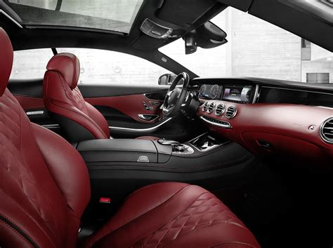 The entire cockpit is designed using fine, carefully selected leather materials. Preview: 2015 Mercedes-Benz S-Class Coupe - You Finally Made It - The Fast Lane Car