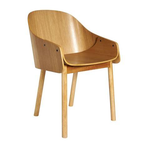 habitat chaise de bureau callahan chaises de salle à manger naturel bois habitat