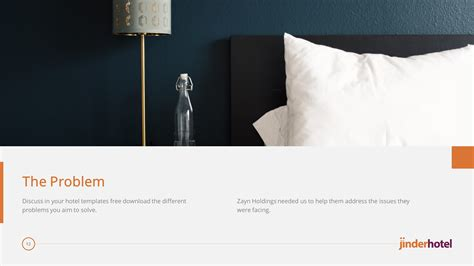 hotel premium powerpoint template  themes  hotel