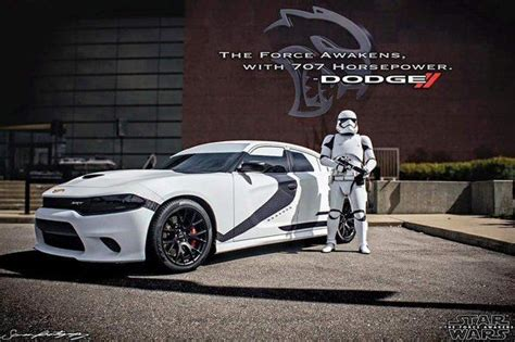 Dodge Charger Stormtrooper by Dodge Charger Hellcat Wars Trooper Edition