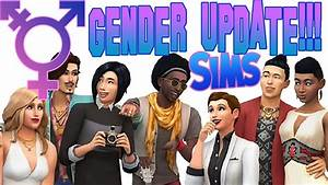 SIMS 4 UPDATES GENDER SETTINGS! - Trans, Clothing Pref ...