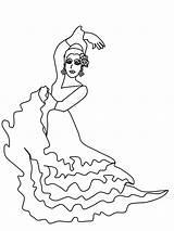 Spanish Flamenco Coloring Dancer Cultures Template Dancers Dibujos Countries Sevillanas Colouring Gifs Colorear Tags Popular Printablecolouringpages sketch template