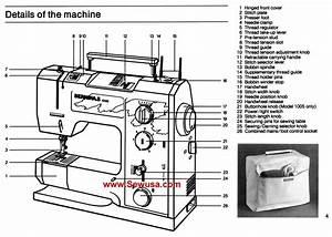 Bernina 1004 1005 Instruction Manual
