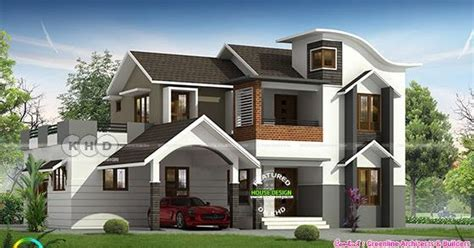 square feet bedroom contemporary house kerala home design floor plans houses