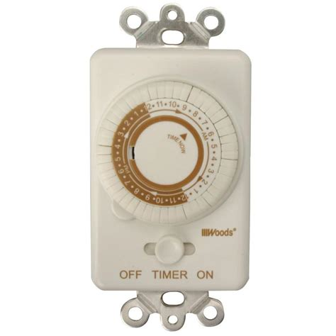 woods  amp  hour  wall programmable mechanical timer