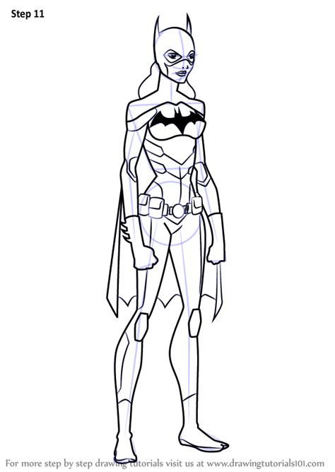 step  step   draw batgirl  young justice