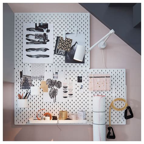 Stehle Holz Ikea by Sk 197 Dis Pegboard White In 2019 List Of Things Panneau